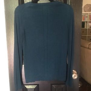 Banana Republic Sweaters - Banana Republic Size M Teal Silk Cashmere Sweater